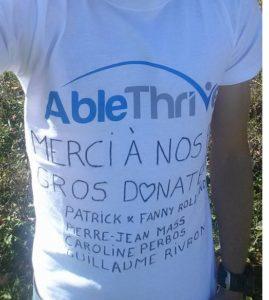 Fundraiser pour AbleThrive
