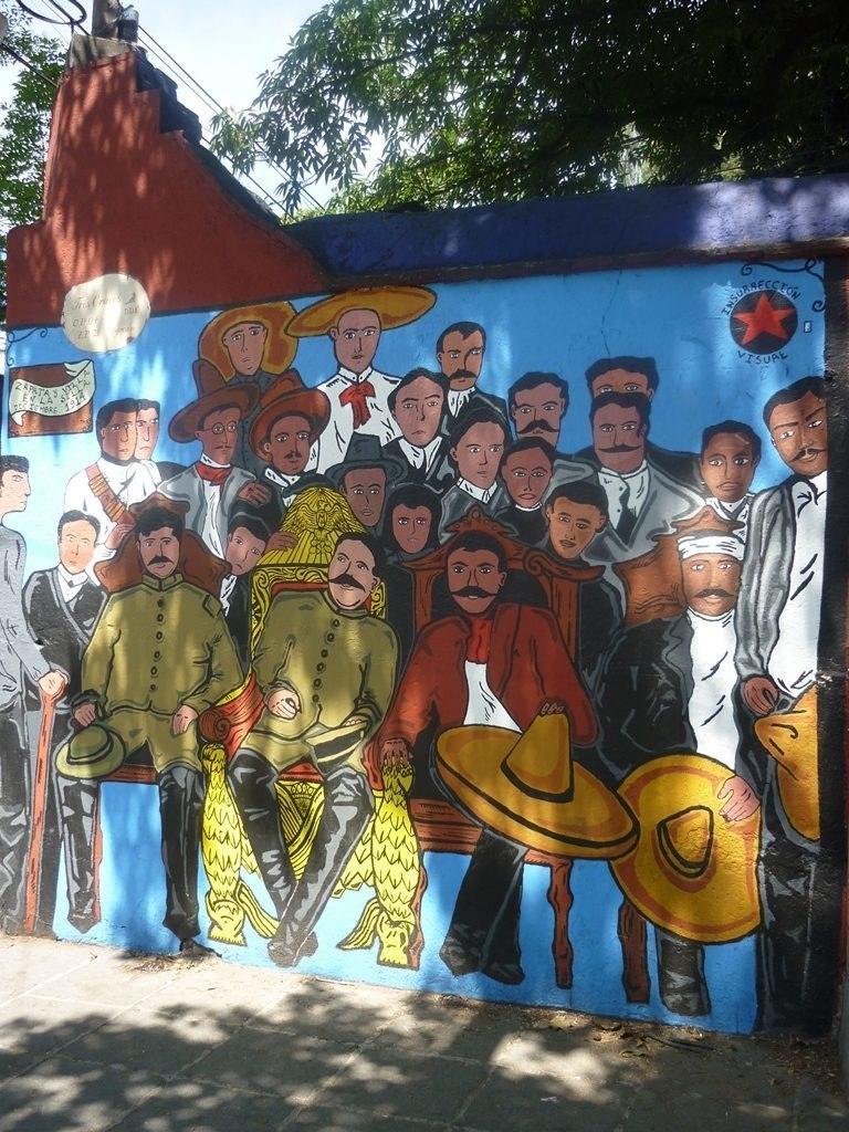 Murale Zapata et Villa - Coyoacan