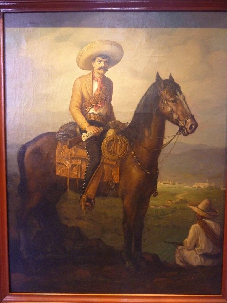 Emiliano Zapata - Chateau Chapultepec