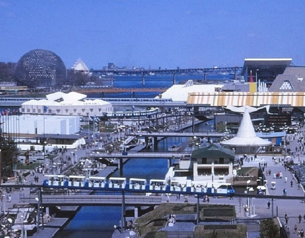 Expo 67, île Notre-Dame By Laurent Bélanger (Own work) [CC BY-SA 3.0 (http://creativecommons.org/licenses/by-sa/3.0)], via Wikimedia Commons