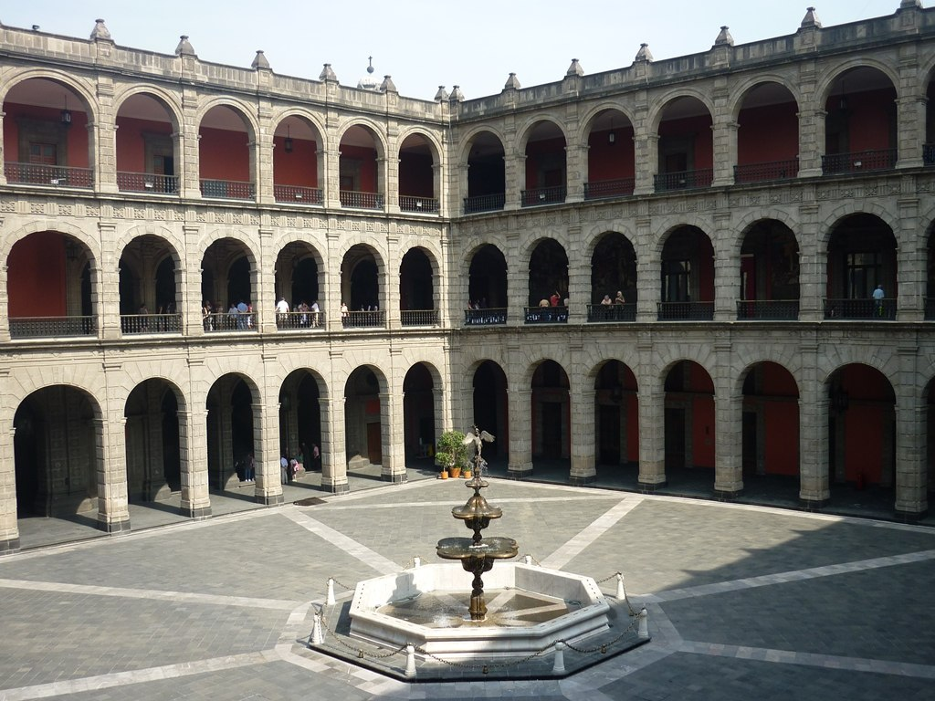 Palais Nationale - Mexico