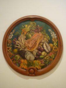 Peinture de Frida Kahlo à Mexico