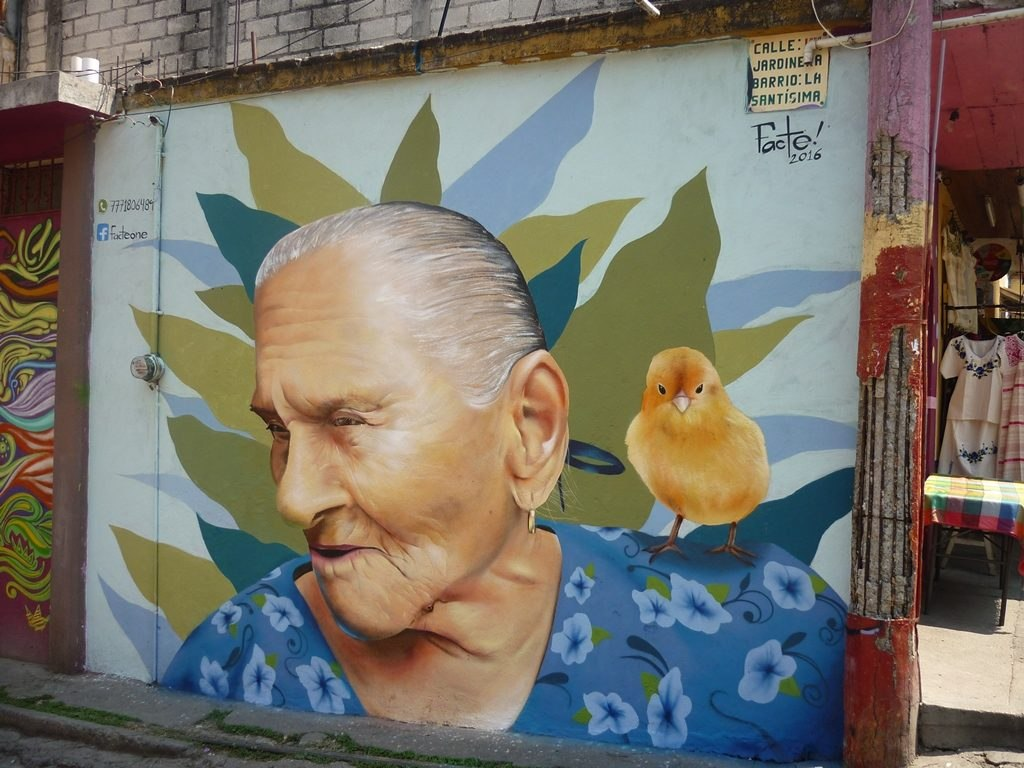Peinture rue - Tepoztlán