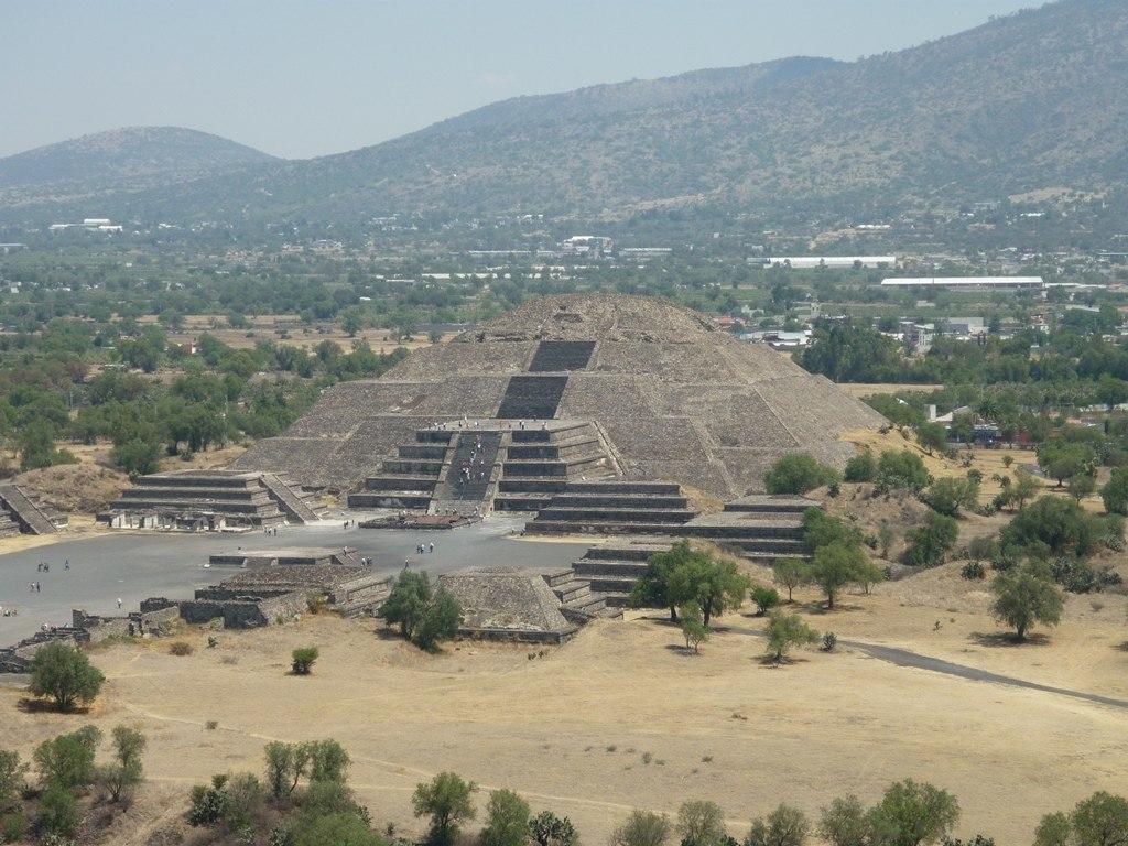 Pyramide de la lune - Teotihuacan