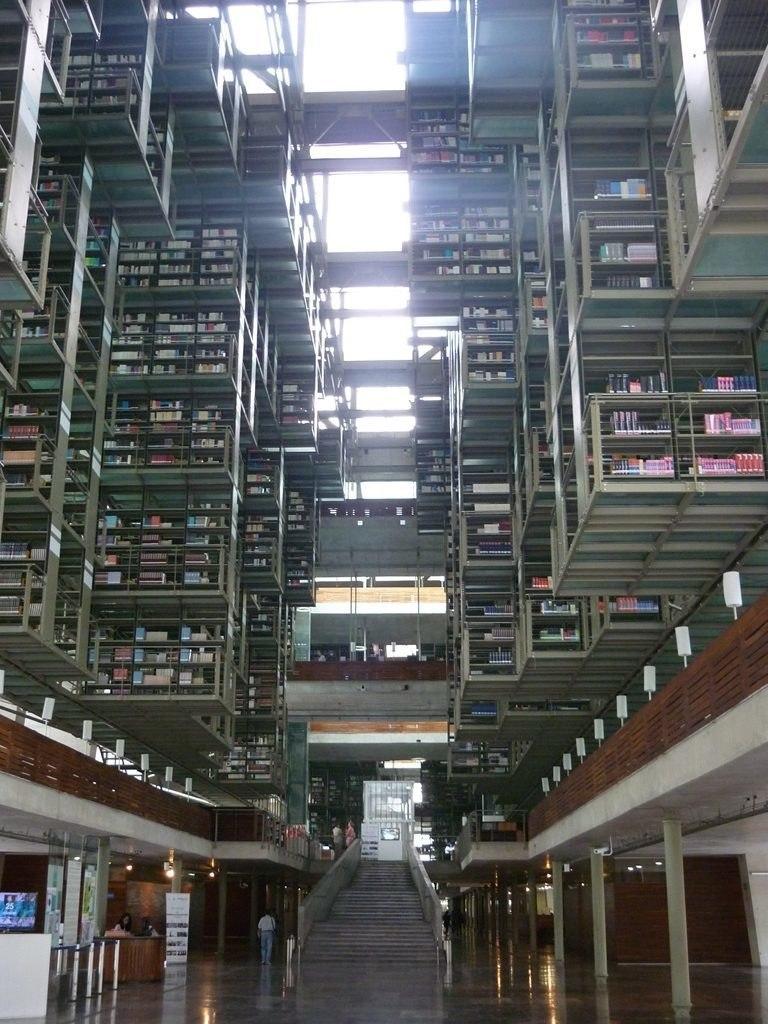 Bibliothèque Vasconselos - Mexico
