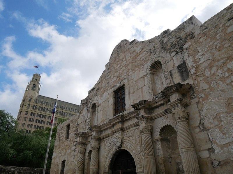 Eglise Alamo à San Antonio