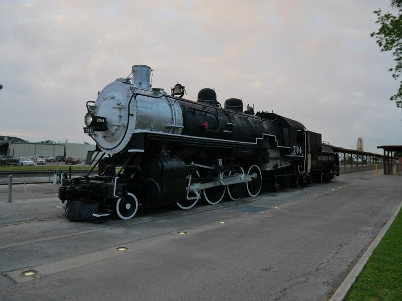 Gare Amtrak à San Antonio