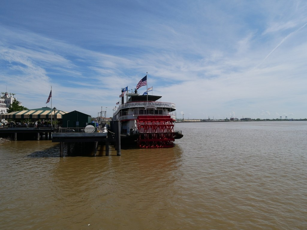 La Nouvelle-Orléans - Dernier bateau à vapeur