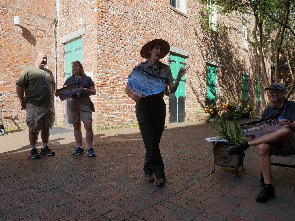 Ranger talk à La Nouvelle-Orléans (NPS Jean Lafitte)