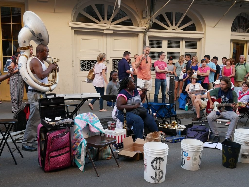 La Nouvelle-Orléans - musique live 1