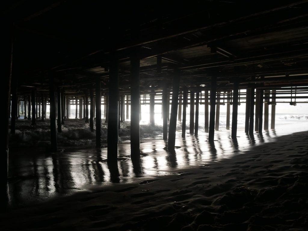 Santa Monica - Sous la jetée