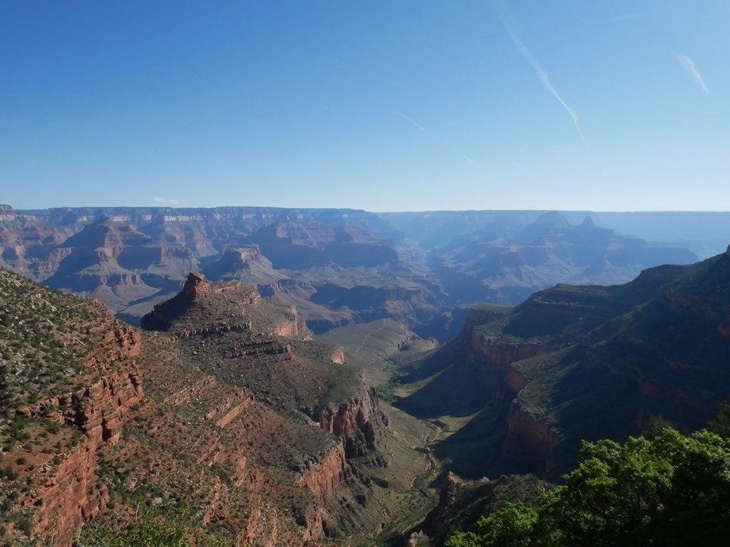Bright Angel trail à Grand Canyon