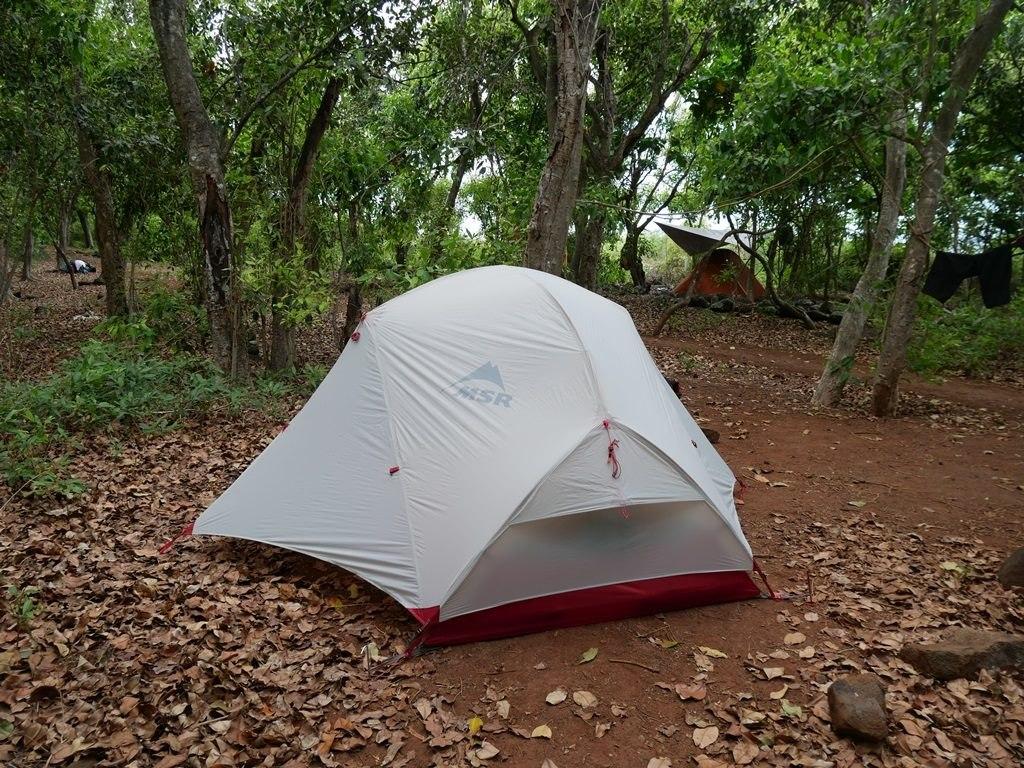 Camping à Kalalau Beach