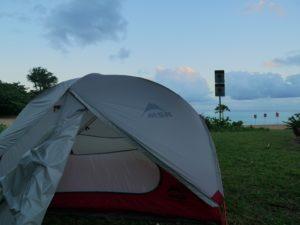 Camping Haena à Kauai