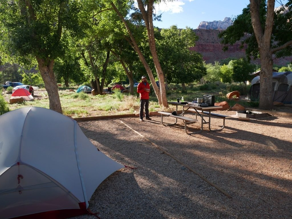 Emplacement Watchman Campground - Zion