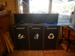 Compost et recyclage Market Plaza à Grand Canyon