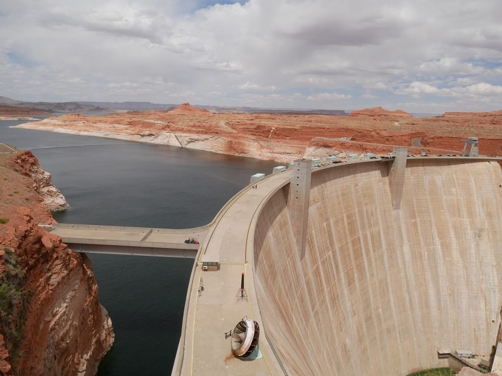 Barrage Glen Canyon proche de Page