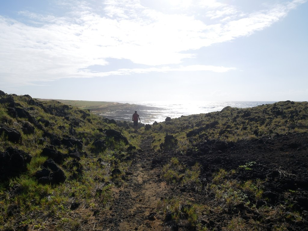 Randonnée Green sand beach sur Big Island