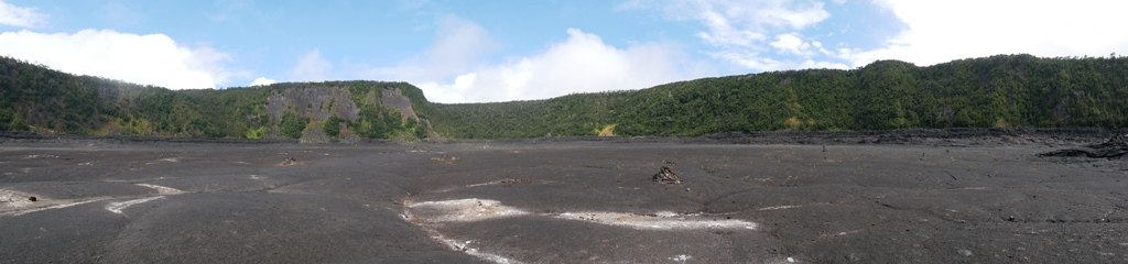 NPS Hawaiian Volcanoes park - Kilauea iki crater sur Big Island