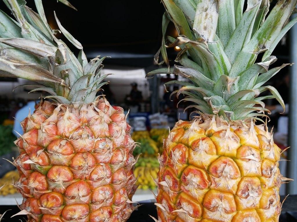Marché fermier Hilo - Big Island