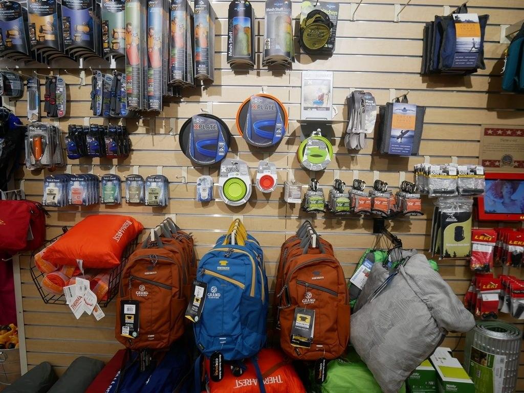Boutique d'équipement Market plaza à Grand Canyon