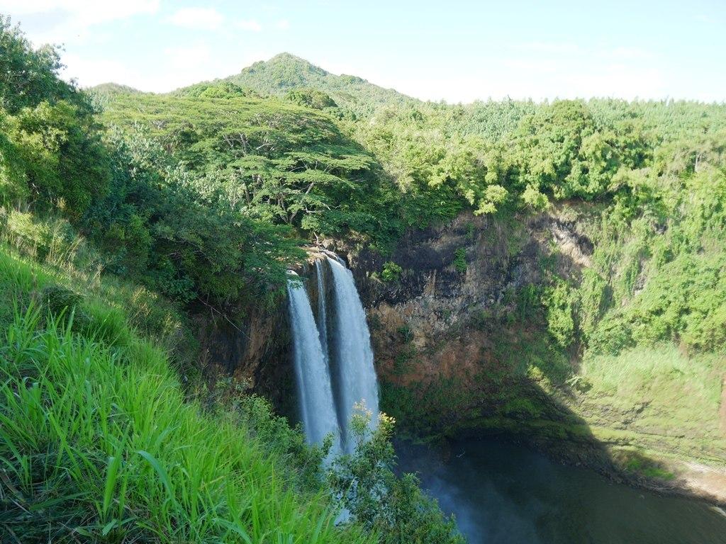 Opaekaa falls à Kauai