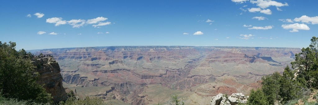 Mather Point au Grand Canyon