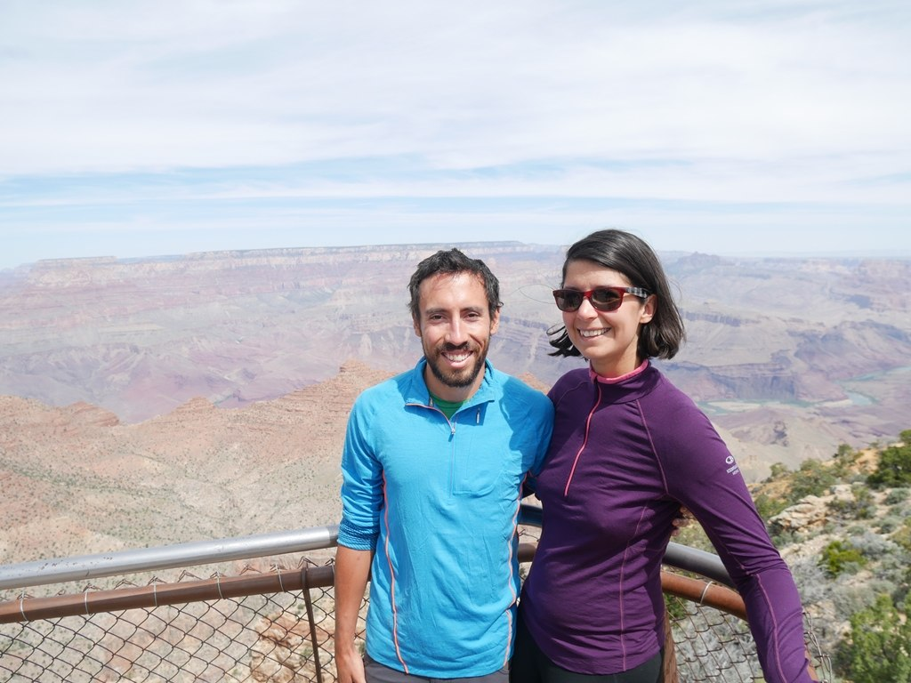 Deux Évadés à Desert View