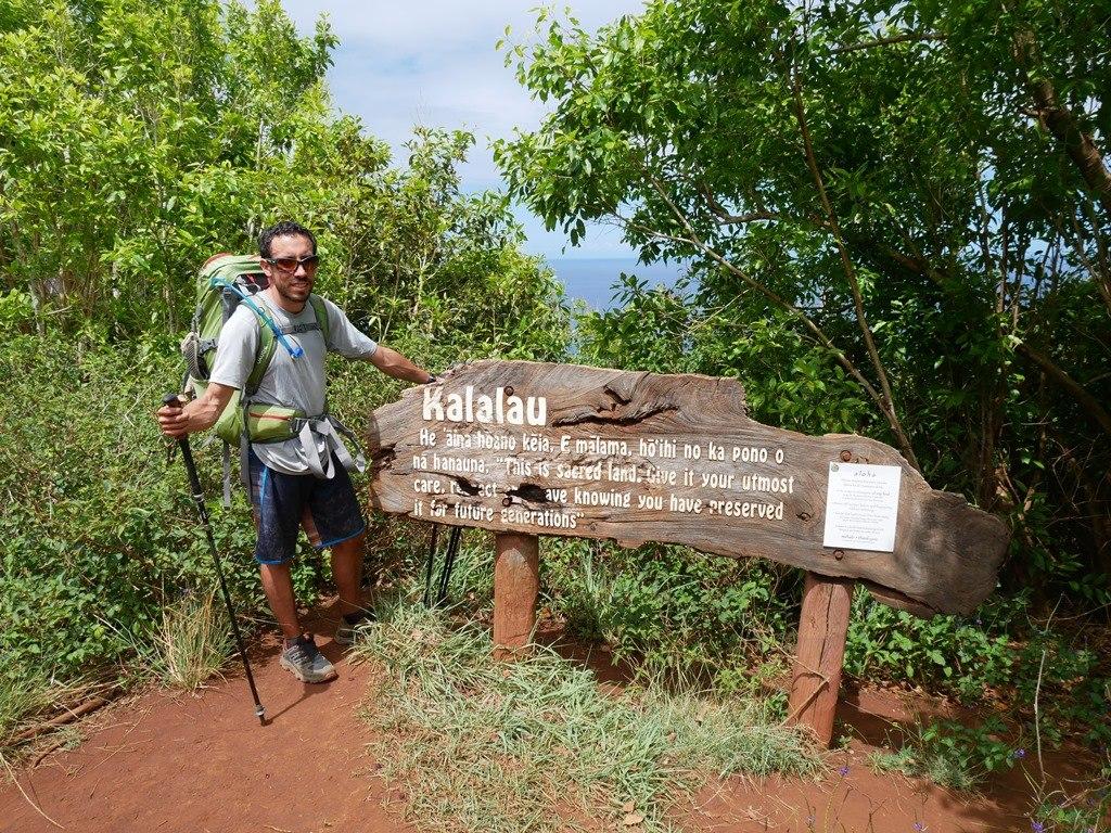 Proche de Kalalau Beach sur le Kalalau Trail