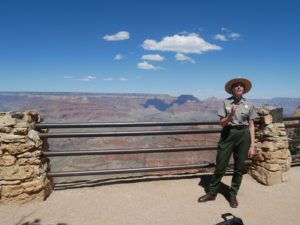 Ranger talk au Grand Canyon