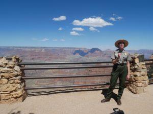 Ranger talk au Grand Canyon