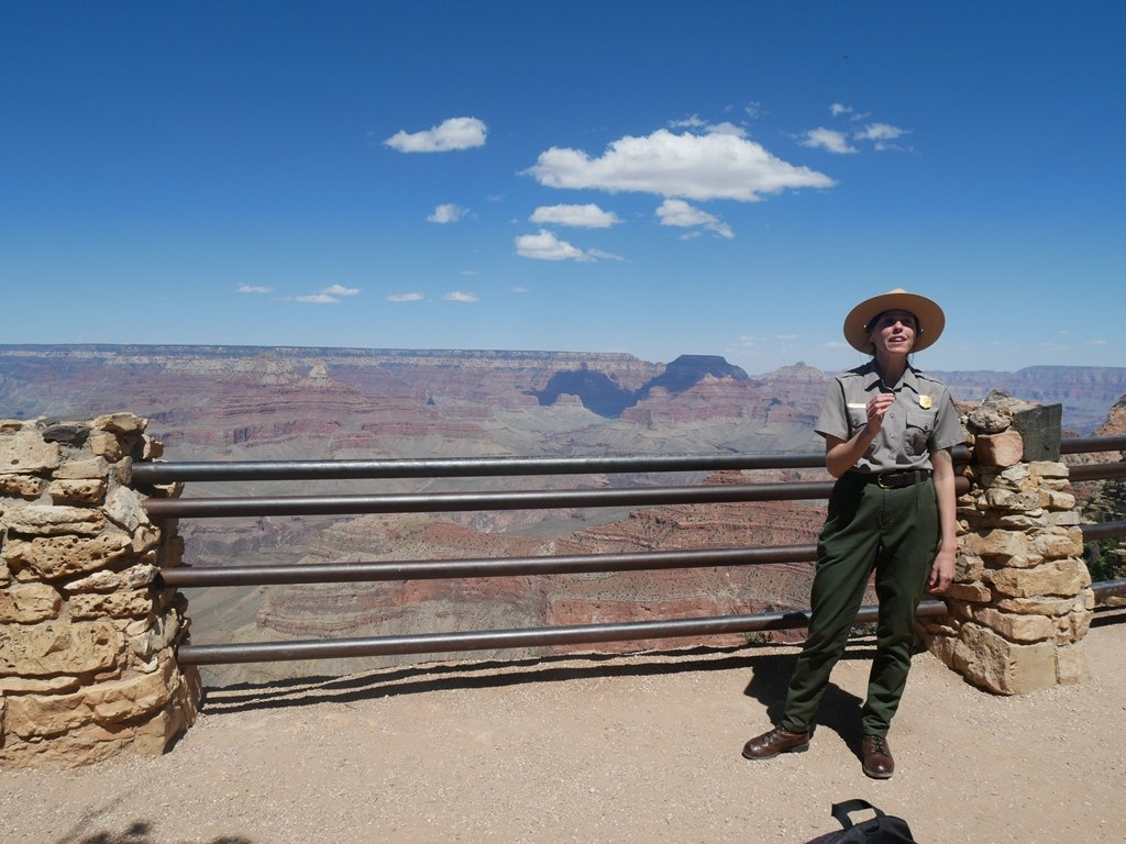 Ranger talk sur la géologie au Grand Canyon