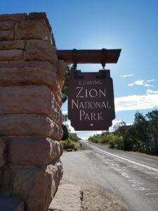 Au revoir Zion