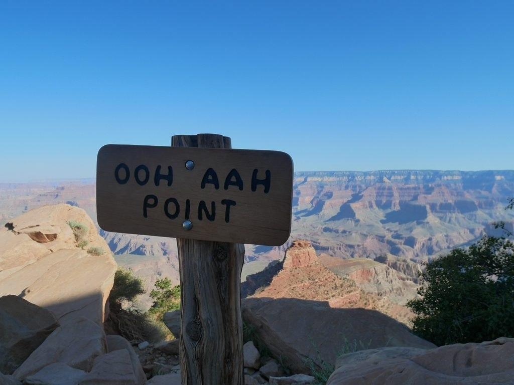 South Kaibab trail à Grand Canyon