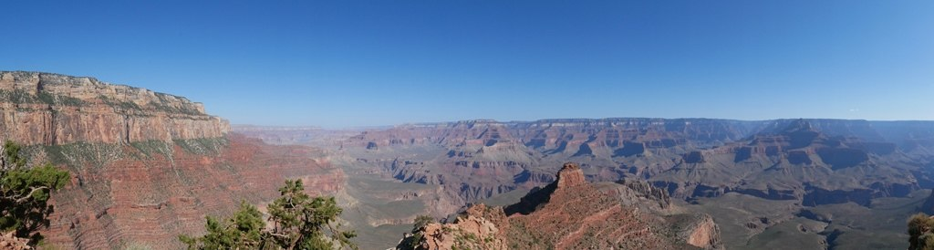 South Kaibab trail au Grand Canyon