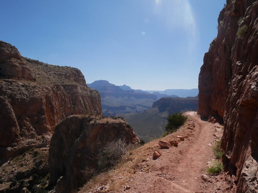 South Kaibab trail à Grand Canyon