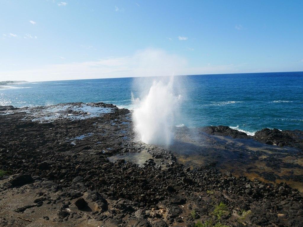 Spouting Horn à Kauai