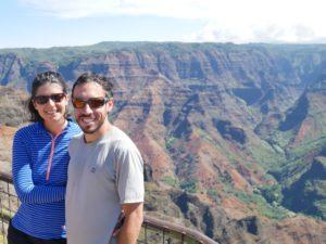 Deux Évadés au Waimea Canyon de Kauai