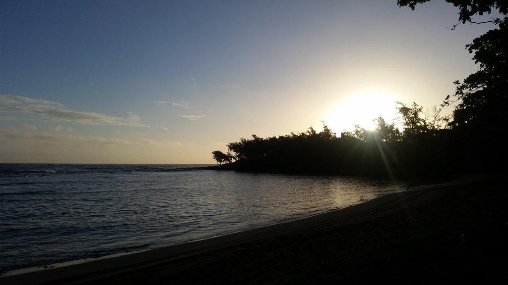 Plage Anahola à Kauai