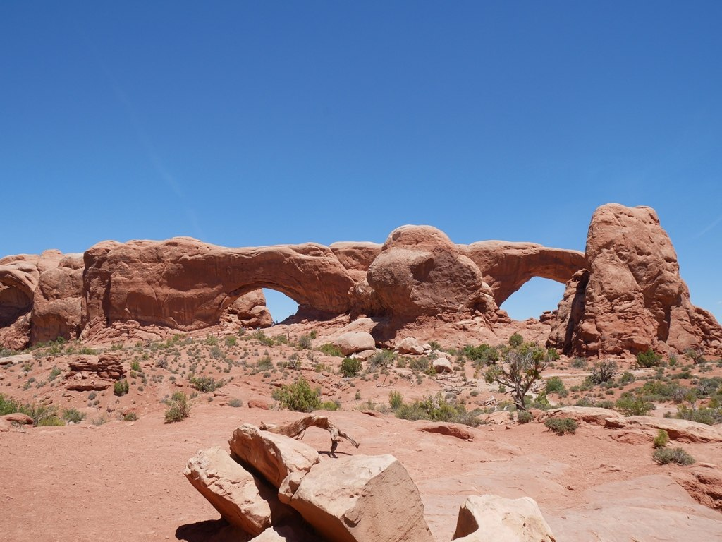 North et South Window Arch à Arches