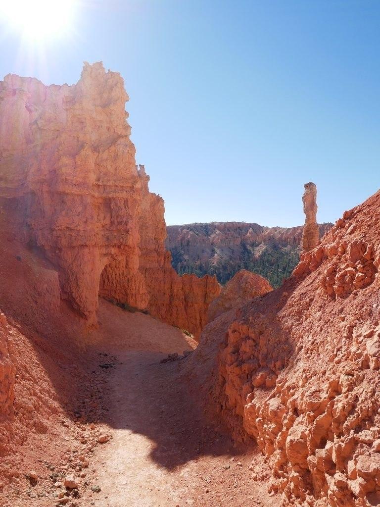 Sur les sentiers de Bryce Canyon