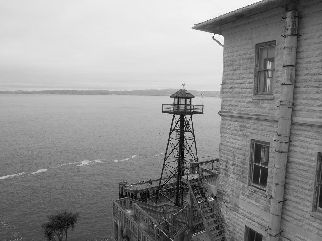 Alcatraz extérieur à San Francisco