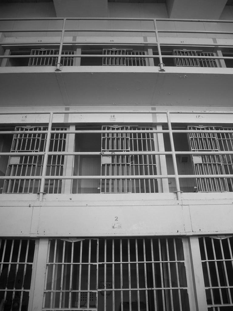 Alcatraz intérieur à San Francisco