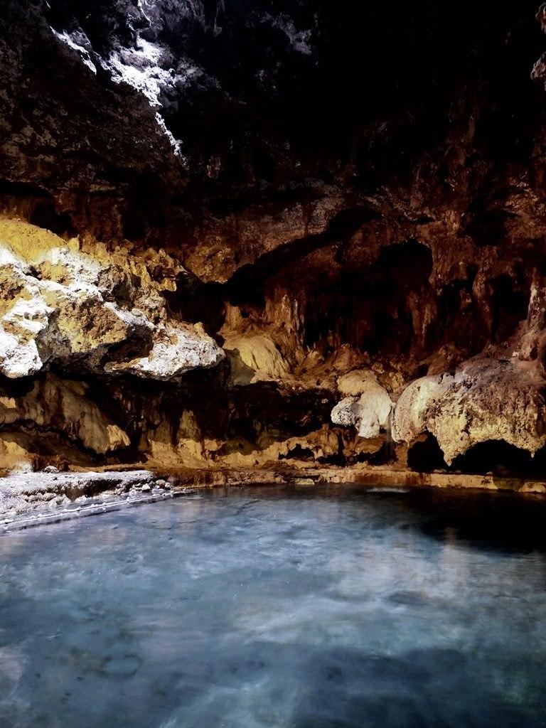 Cave and Basin à Banff - intérieur