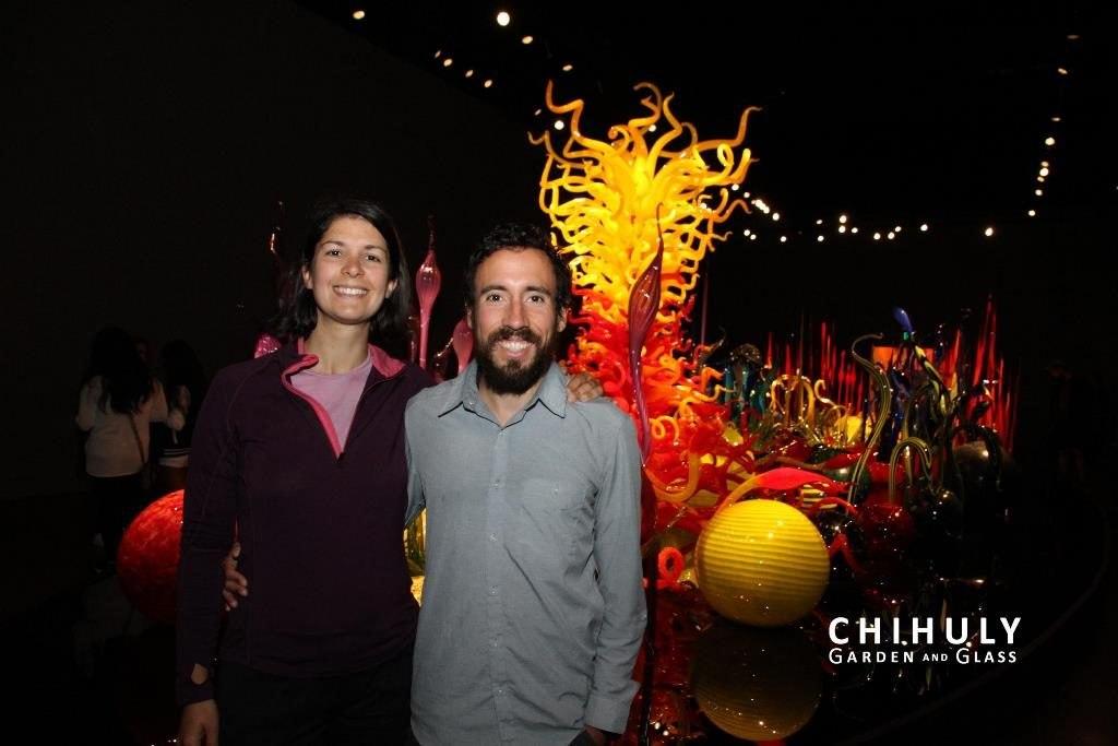 Deux Évadés Chihuli Museum Seattle