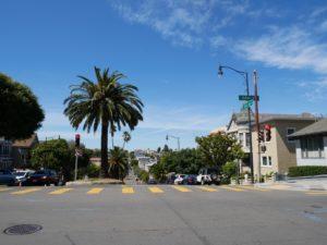 Croisement de rue - San Francisco