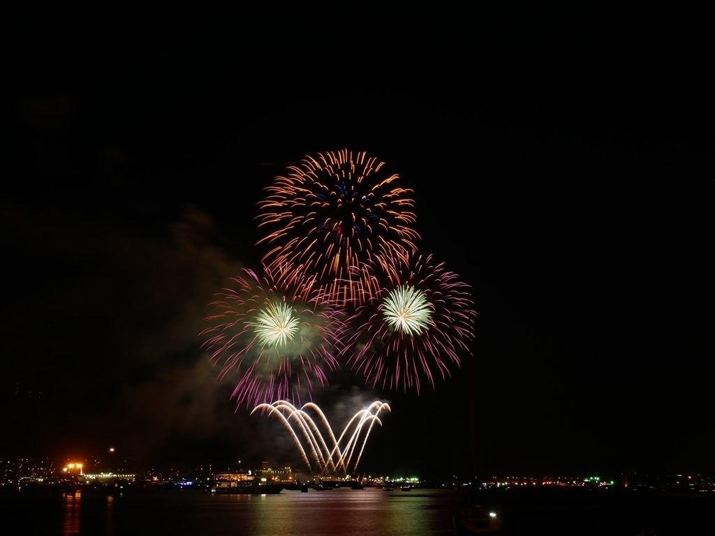 Feu artifice de la 150ème fête du Canada