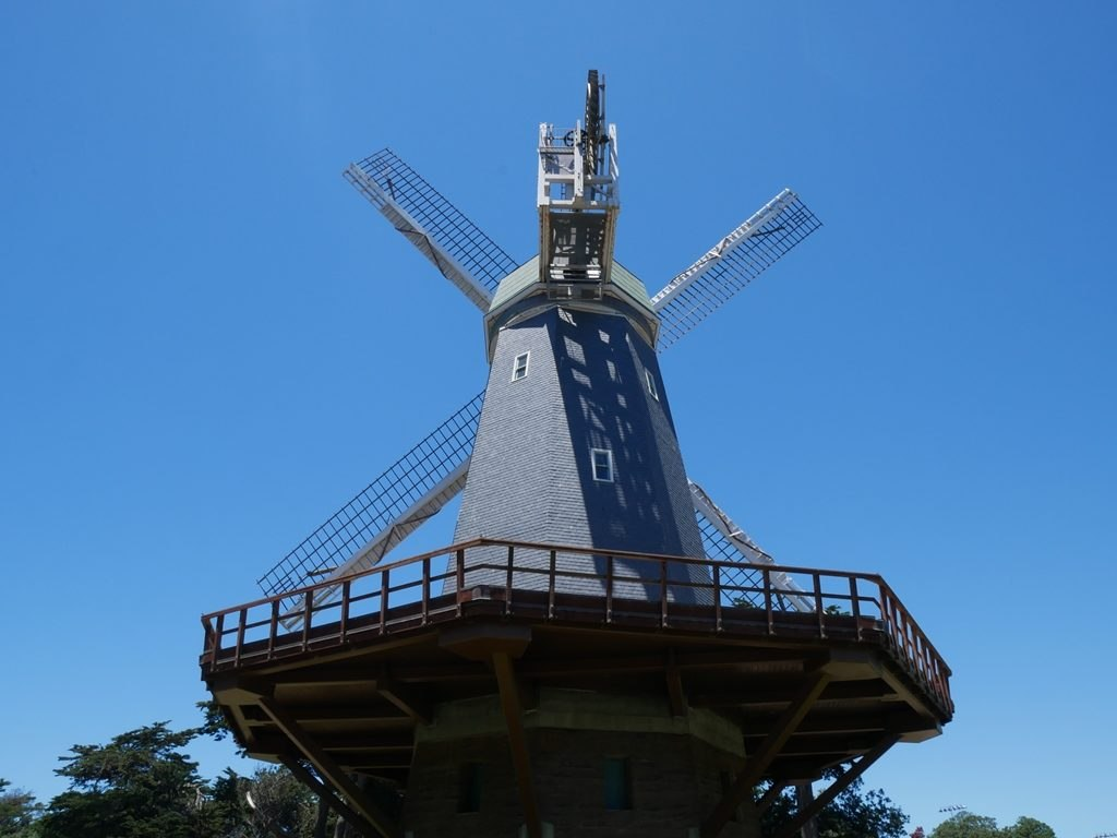Golden Gate park - Moulin