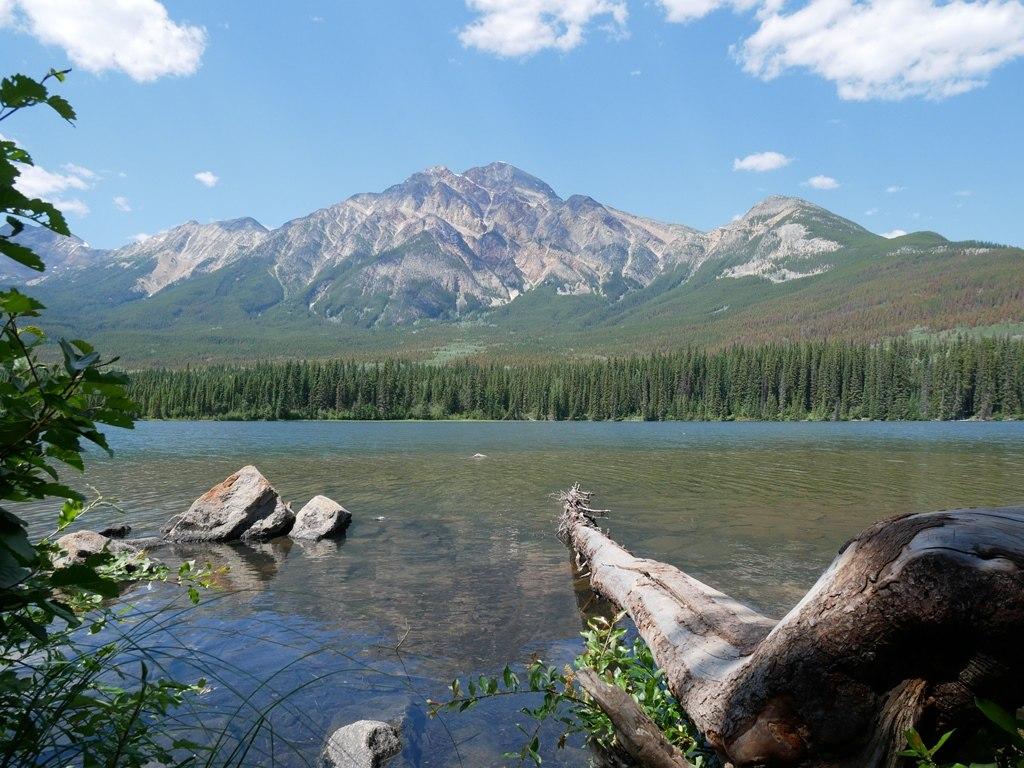 Ile Lac Pyramide à Jasper