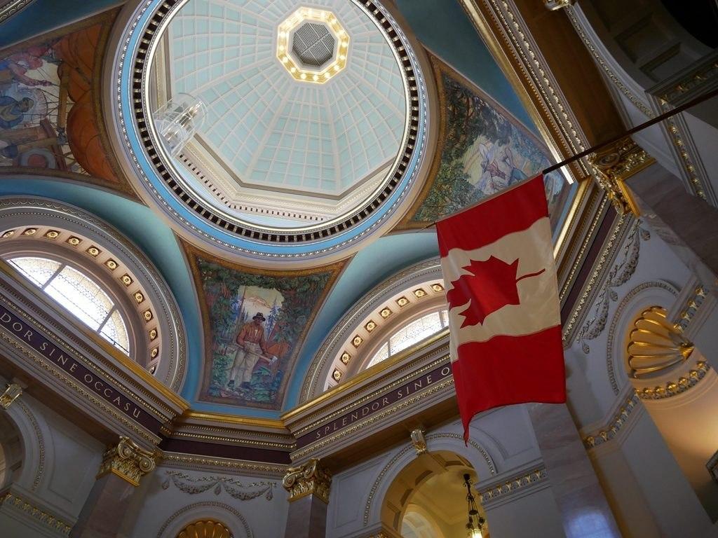 Intérieur du parlement de Colombie Britannique - Victoria